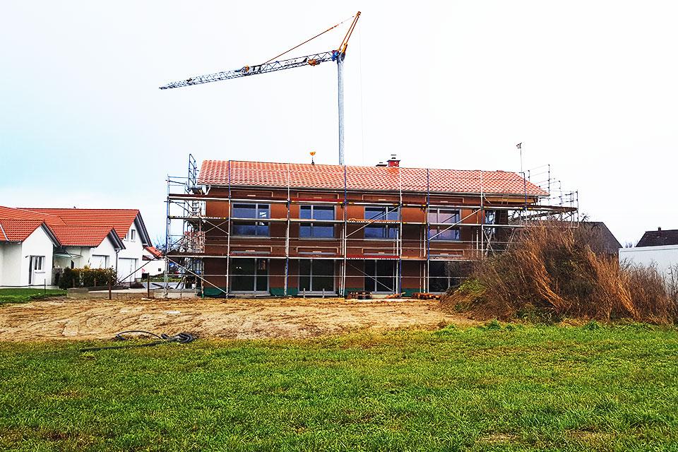 8HAUS Musterhaus: Es geht weiter – Start Innenausbau