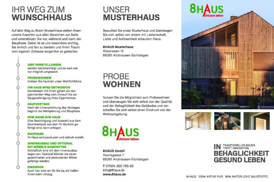 Der 8HAUS Image-Flyer