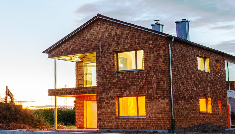 Gesundes Bauen mit Holz und Lehm
